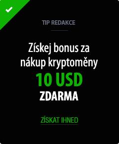 Bonus 10 USD zdarma