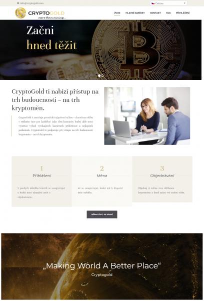 Je CryptoGold podvod?