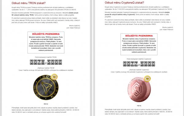 CryptonsQ vs. TRON